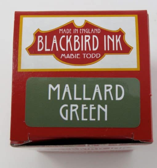 Mallard Green Fountain Pen Ink